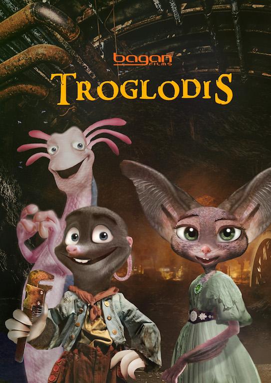 TROGLODIS AFFICHE